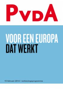 Verkiezingsprogramma EP